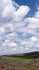 Summer Clouds, High Desert, Oregon